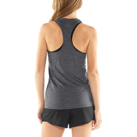 Icebreaker Amplify Racerback Tank Dame panther heather/cove heather